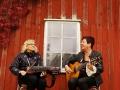 Ingmarie och Ann-Catrine på scen